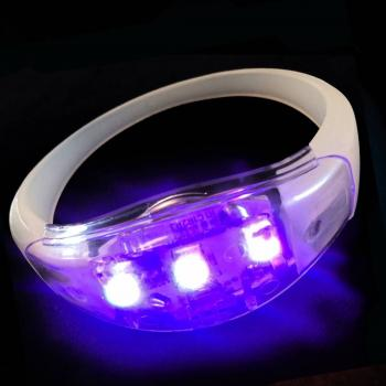Sound activated led armband multicolor