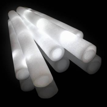 LED Foamsticks Wit